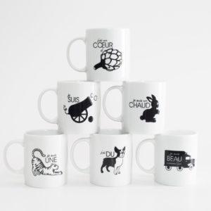 Pied de poule - Mugs expressifs