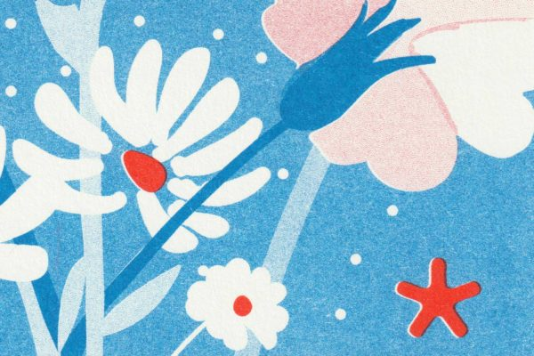 Pied de poule - Affiches Mots doux