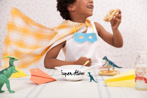 Pied de poule - La Famille s'éclate - Super Héros