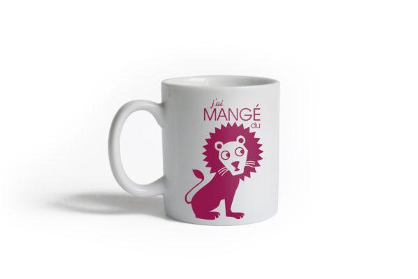 Pied de poule - Minimugs Les animaux - lion