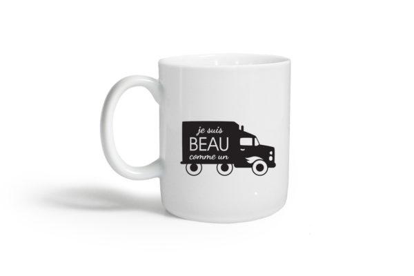 Pied de poule - Mugs expressifs- beau comme un camion
