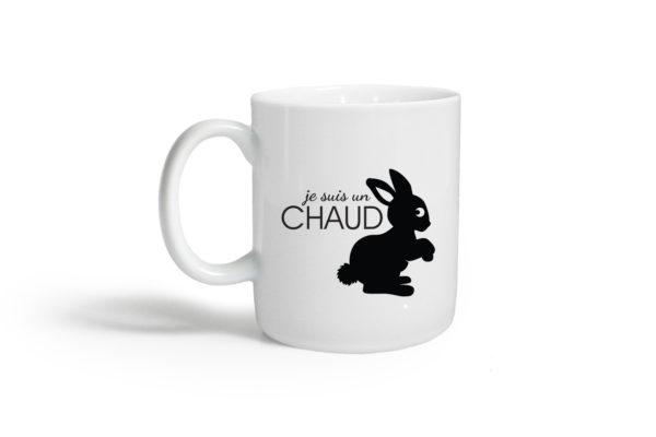 Pied de poule - Mugs expressifs- chaud lapin