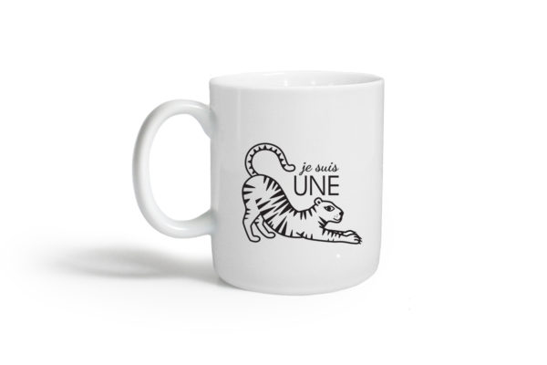 Pied de poule - Mugs expressifs- tigresse